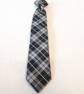 Chaps Boys Plaid Clip On Plaid Necktie Kids
